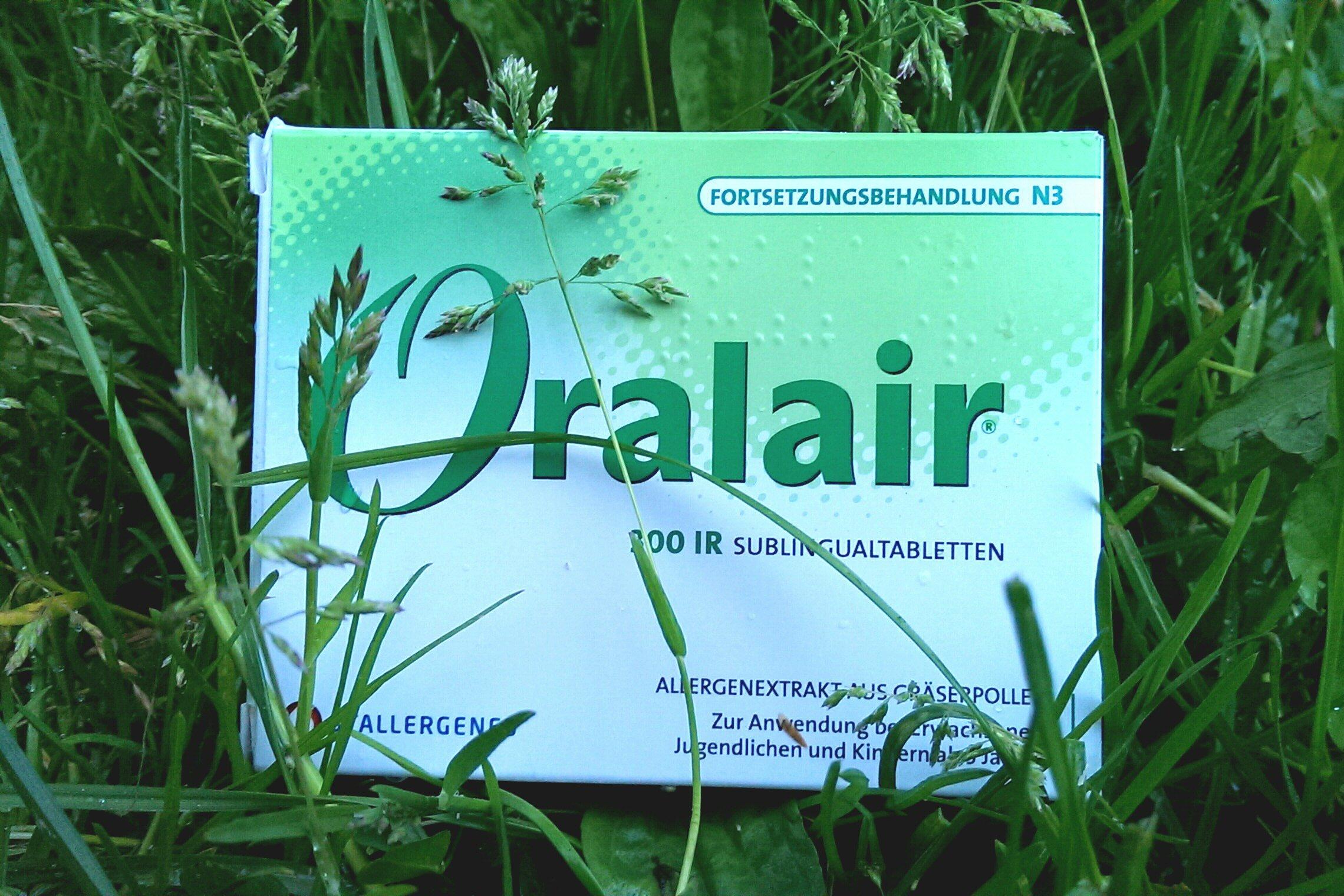 Oralair gegen Heuschnupfen zur Hyposensibilisierung